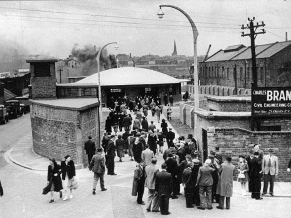 Historic image of Tyne Tunnel