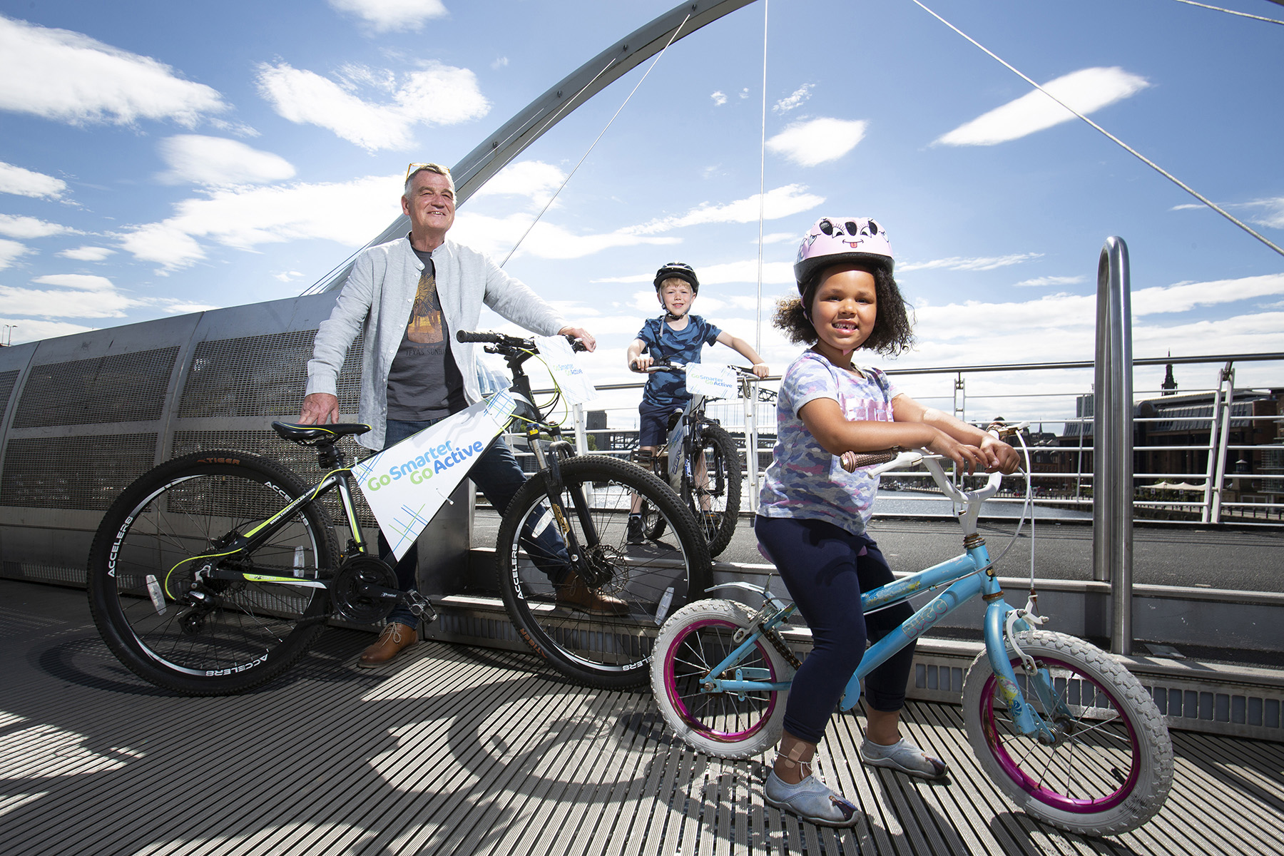 On your marks, get set… cycle! Go Smarter, Go Active Roadshow bookings OPEN