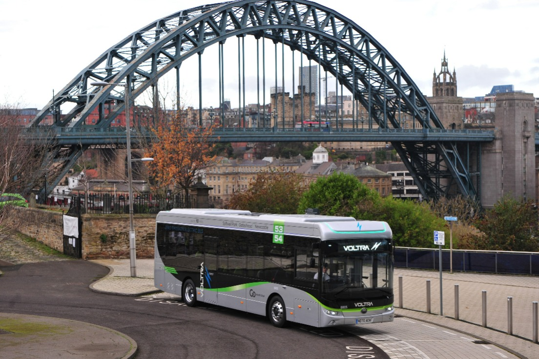 Delivering Zero Emission Buses in the North East